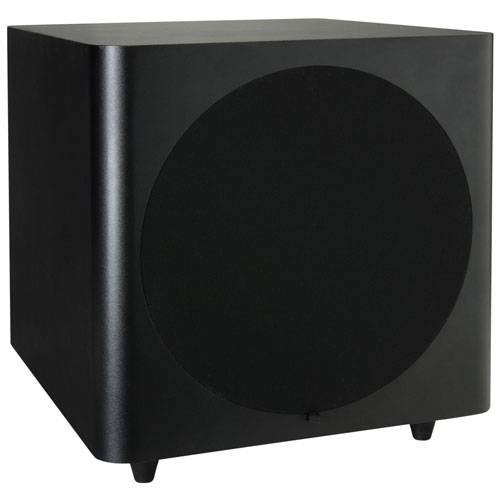 "Dayton SUB-1000 HT Series 10"" 125 Watt RMS Powered Subwoofer"