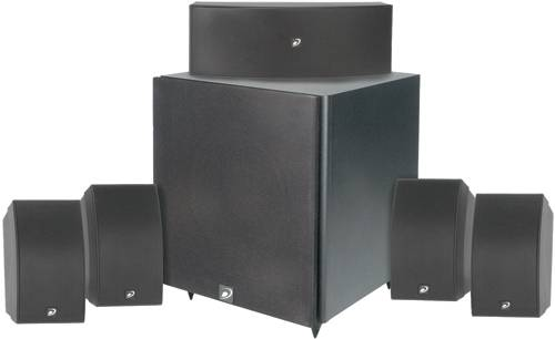 "Dayton 5.1 Home Theater Package with 12"" Powered Subwoofer"
