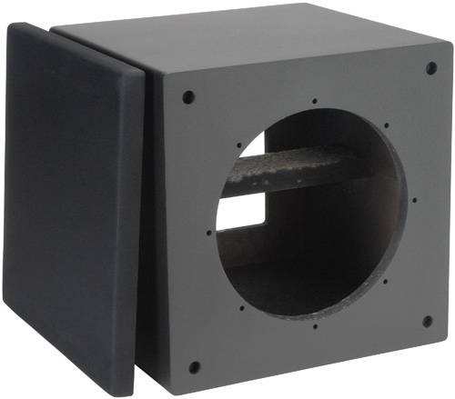 Dayton SWC-1CO 1.0 ft.cu. Subwoofer Cabinet with Cutouts