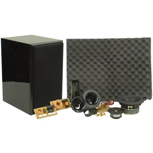 Dayton UA701BK Usher Speaker Kit Gloss Black