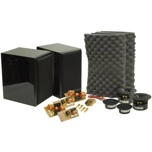 Dayton RS621BK Speaker Kit Pair Gloss Black