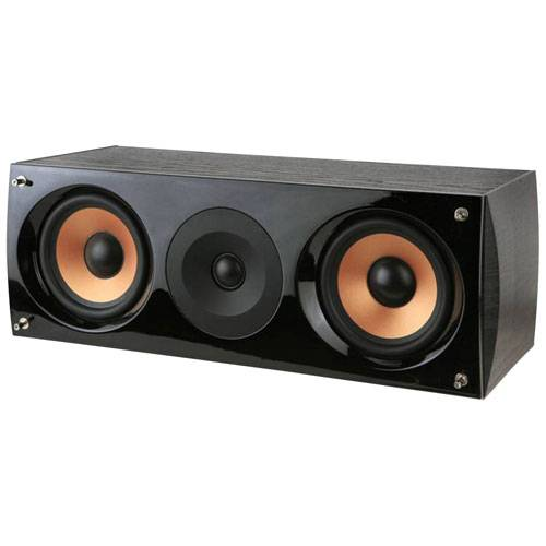 Pure Acoustics Supernova C Center Channel Speaker Black