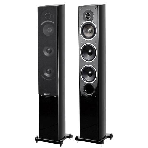 Pure Acoustics Noble II F Tower Speaker Pair Black