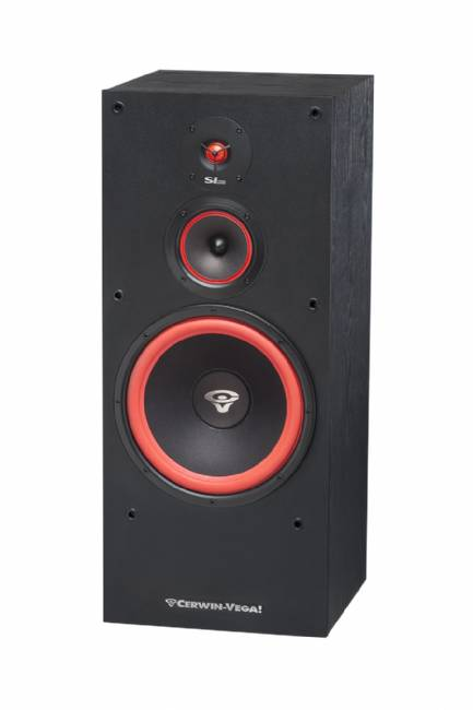 "Cerwin-Vega SL-12 12"" 3-Way Floor Tower Speaker, 300 Watts  - Single"
