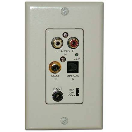 Aton Model DHSIP DIGI-5 Source Input Wall Plate for use with DHTP1