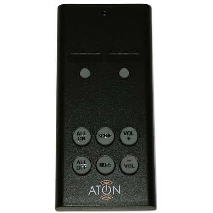 Aton 2 Room RF Remote Receiver Kit