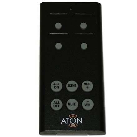 Aton 4 Room RF Remote Receiver Kit