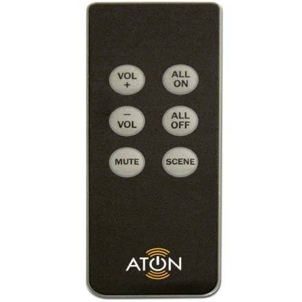 Aton Model DLAIRM Slim Line IR Remote for DLA Audio Router