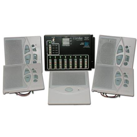 M and S DMC10kit Structured Wire Intercom System
