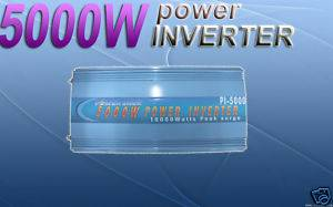 Power Jack Power Inverter 5000/10000 Watts,12v DC/110v AC,60Hz