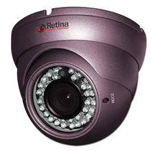 Retina Vandal Proof IR Dome Camera 700TVL Sony