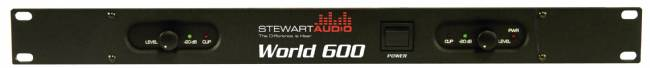 Stewart Audio World 600 2-Channel Power Amplifier - 110W x 2 at 8 Ohm