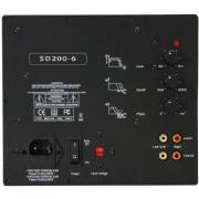 Yung SD200-6 200W Class D Subwoofer Amp Module with 6 dB at 35 Hz